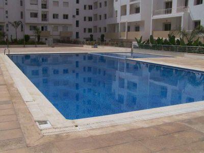 Vue ext�rieure de la location Location Appartement 101746 Agadir