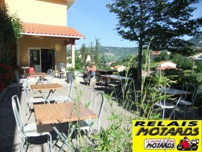 Vue de la terrasse Location Gite 103323 Millau
