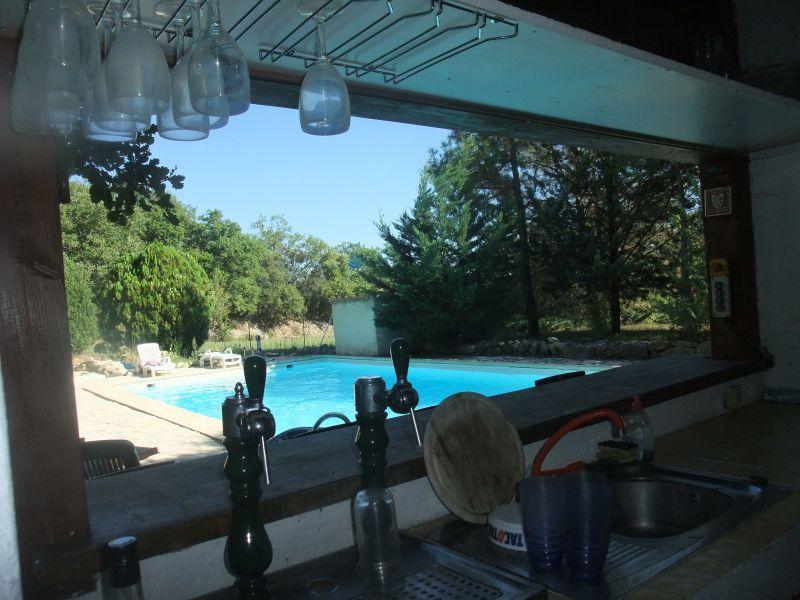 Cuisine d'été Location Villa 103766 Anduze
