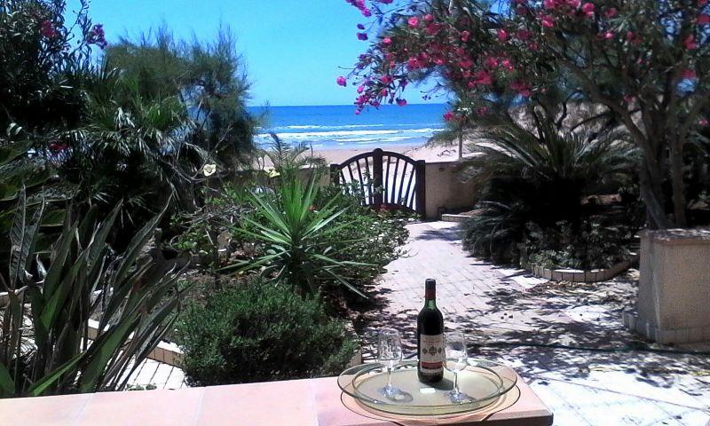 Vue depuis la location Location Villa 105374 Mazara del Vallo