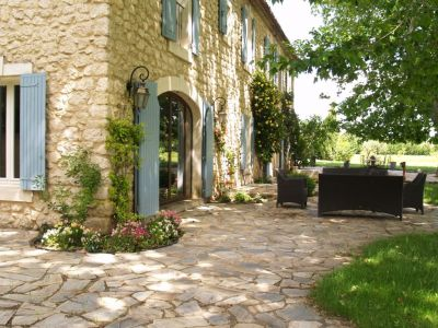 Jardin Location Maison 106704 Isle sur la Sorgue