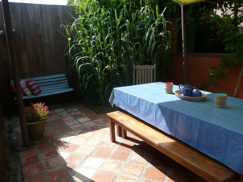Vue de la terrasse Location Gite 108046 Dax