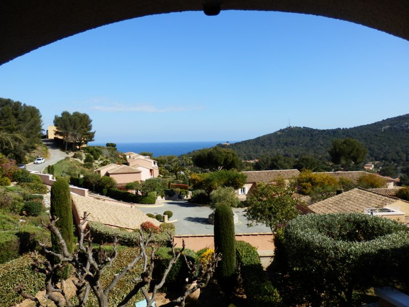 Vue depuis la location Location Villa 110052 Agay