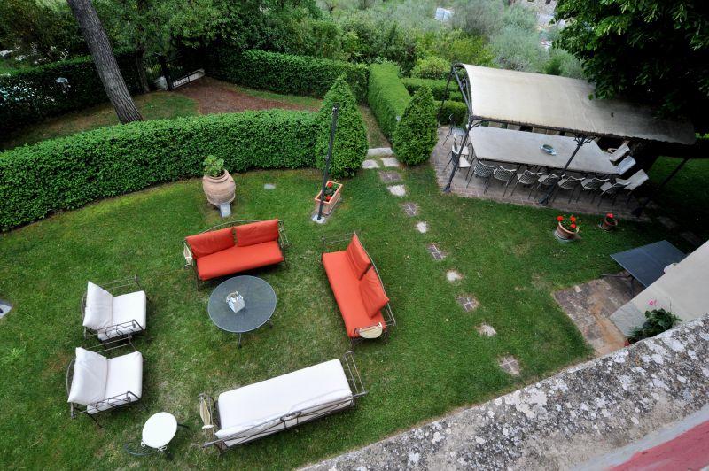 Vue de la terrasse Location Villa 111227 Chianciano Terme