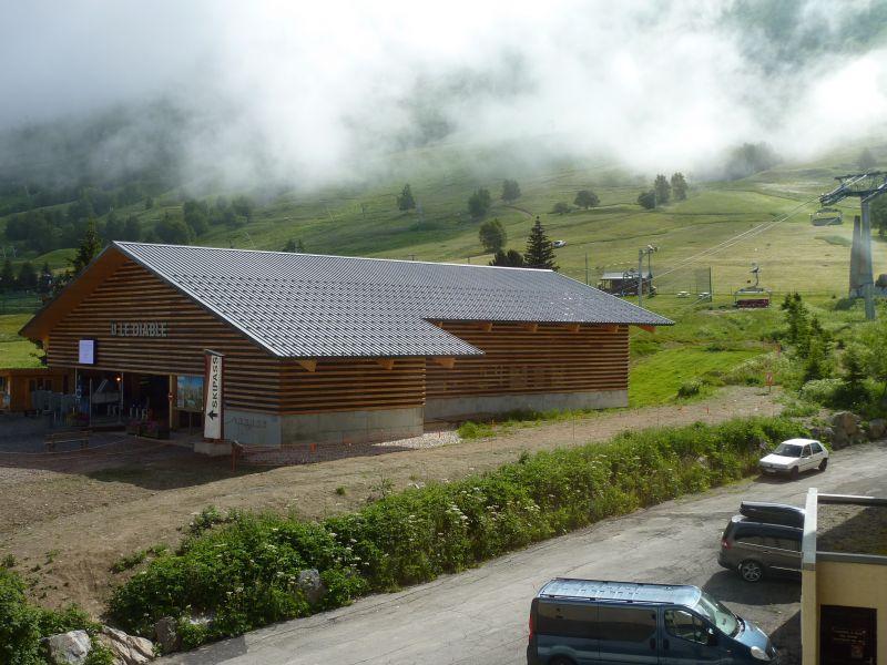 Vue depuis la location Location Appartement 111741 Les 2 Alpes