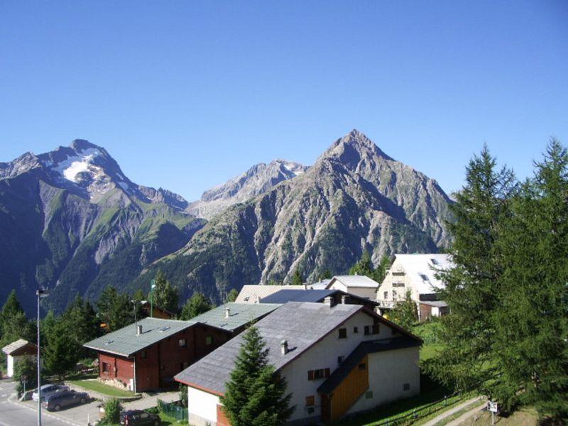 Vue du balcon Location Appartement 111741 Les 2 Alpes