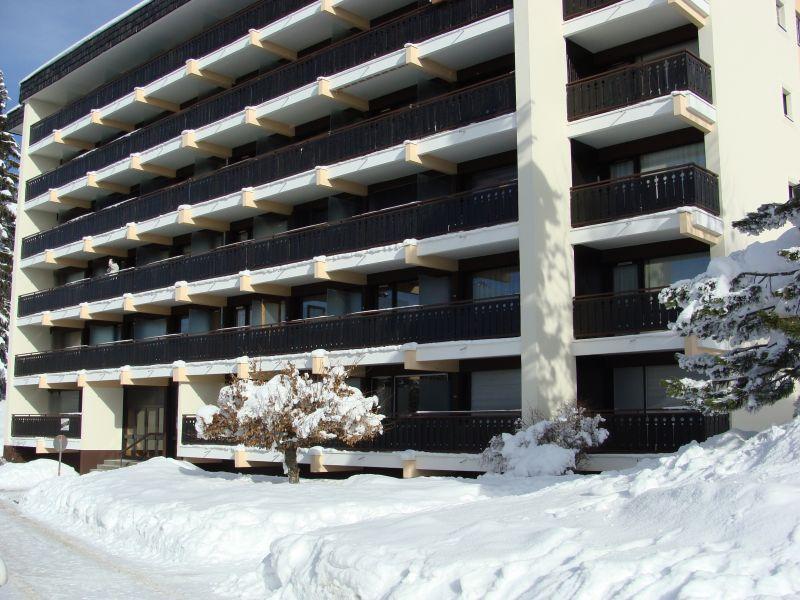 Vue extérieure de la location Location Appartement 112005 Le Collet d'Allevard