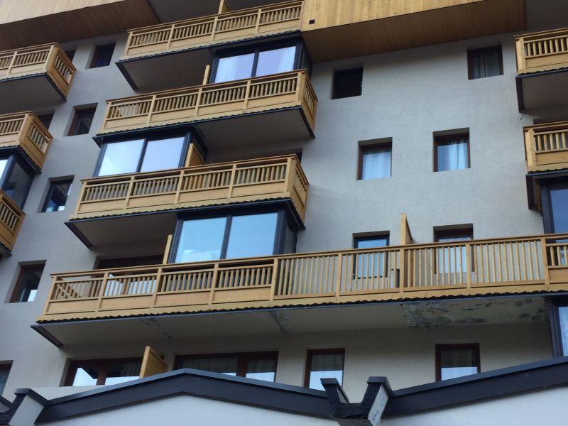 Vue extérieure de la location Location Appartement 116654 Val Thorens