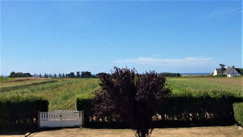 Vue du balcon Location Villa 117027 Quiberon