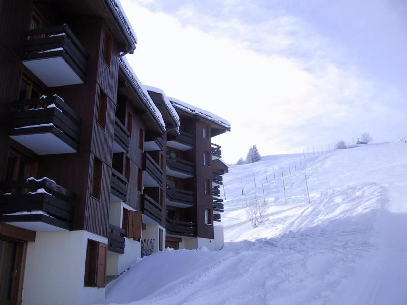 Vue du balcon Location Appartement 117140 Valmorel