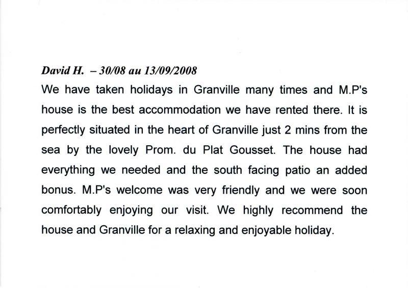 Location Maison 118169 Granville