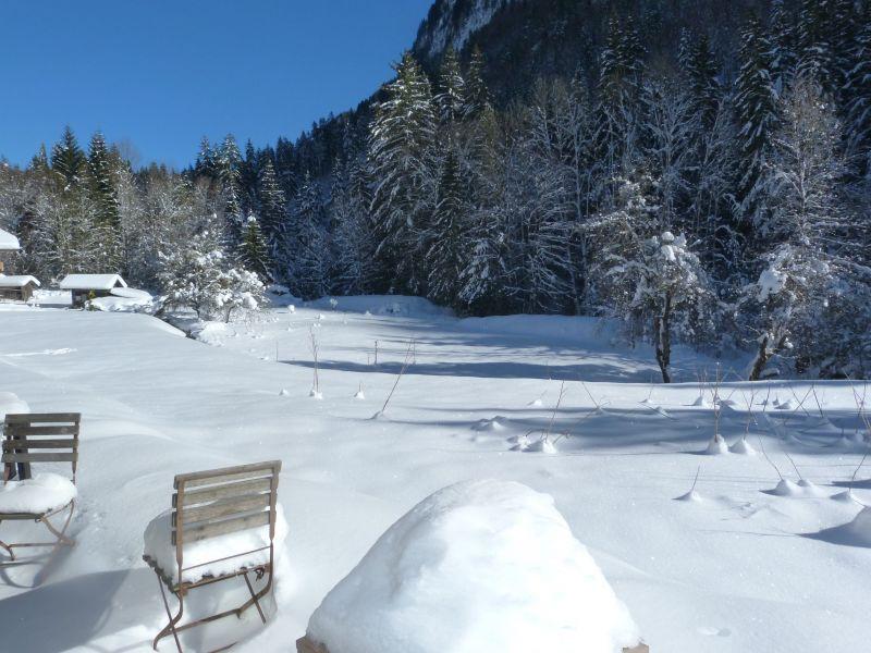 Vue de la terrasse Location Chalet 67065 Morzine
