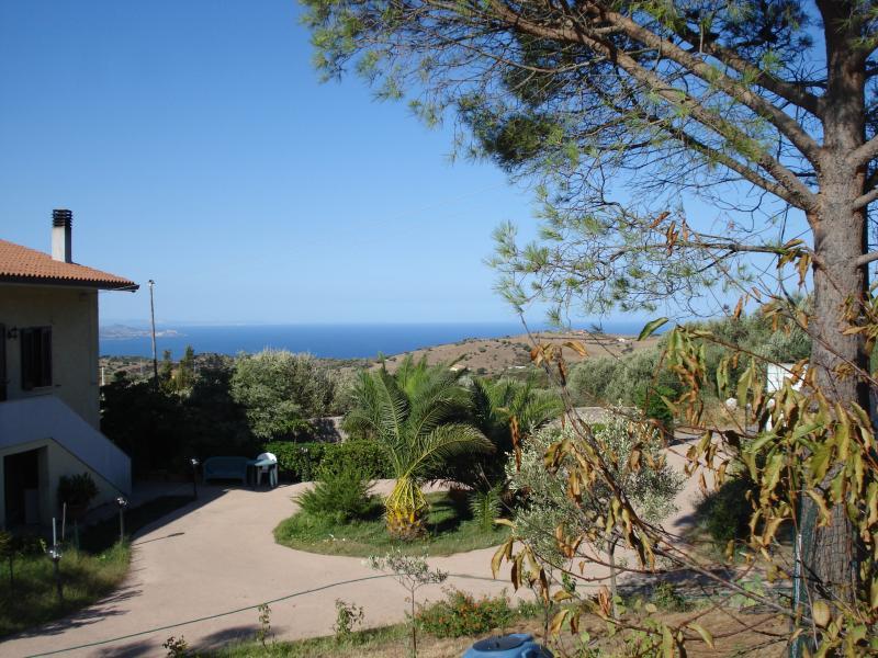 Vue depuis la location Location Appartement 76423 Trinità d'Agultu e Vignola