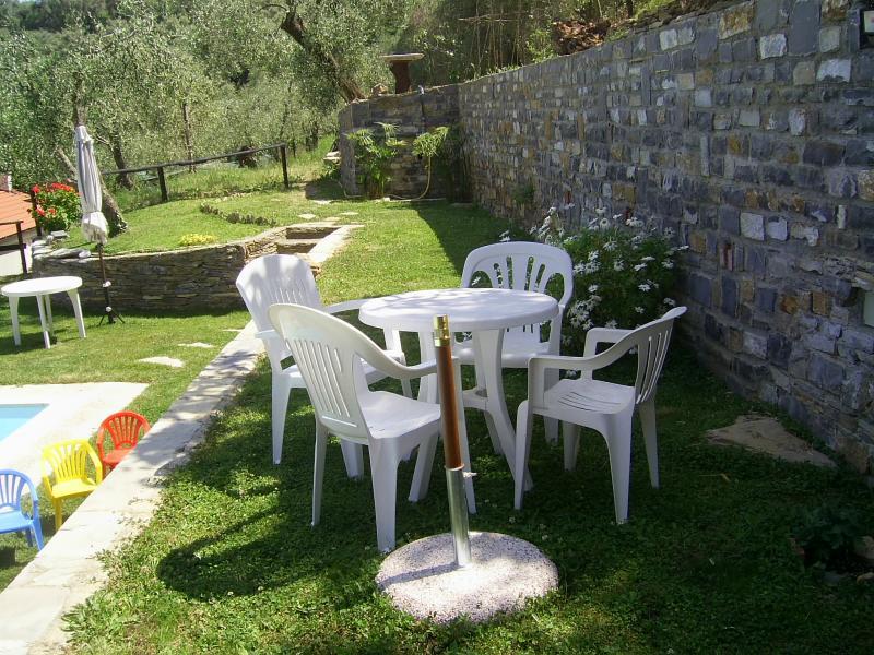 Jardin Location Gite 78649 Dolcedo
