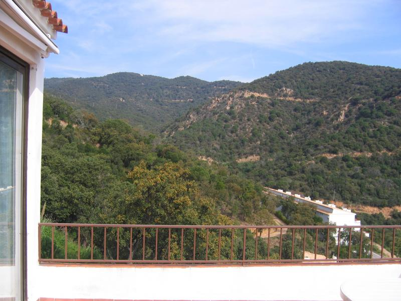 Vue de la terrasse Location Appartement 81181 Tossa de Mar