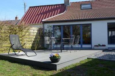 Vue de la terrasse Location Maison 81293 Cayeux-sur-Mer