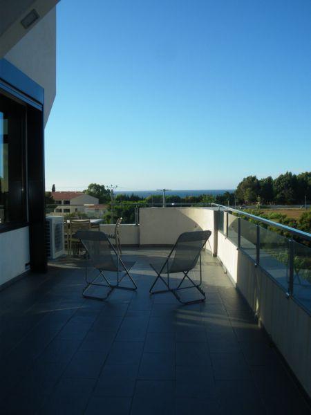 Terrasse Location Appartement 86904 Algajola