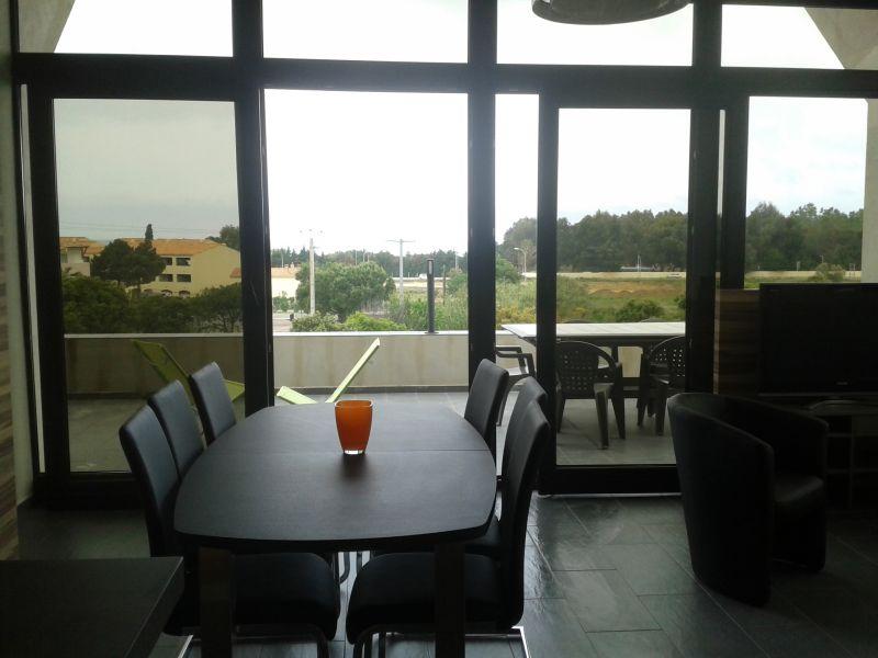 Vue de la terrasse Location Appartement 86904 Algajola