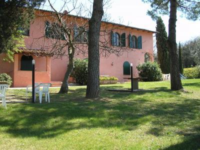 Vue ext�rieure de la location Location Gite 94892 Montaione