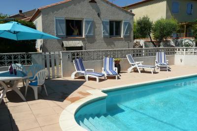 Piscine Location Villa 97110 Vendres