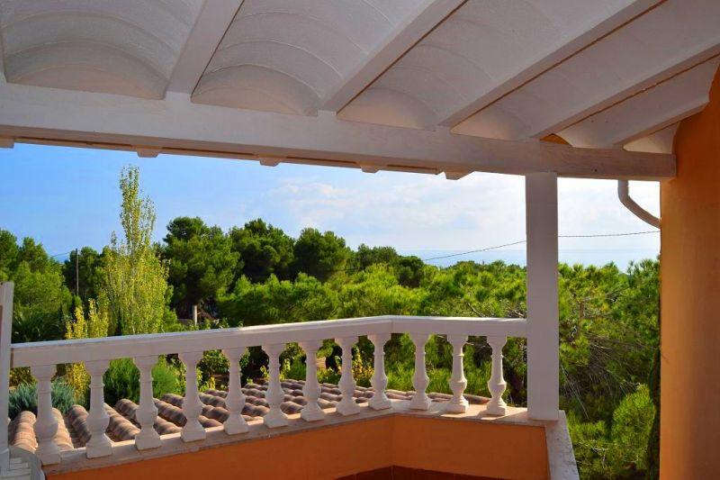 Vue de la terrasse Location Maison 101313 La Ametlla de Mar