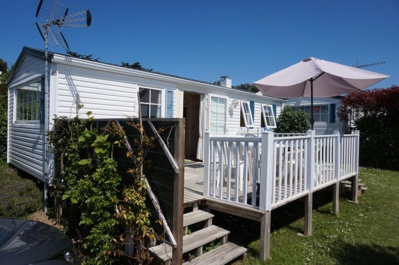 Terrasse Location Mobil-home 102239 Cancale