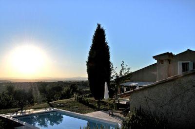 Vue depuis la location Location Villa 102942 Moustiers Sainte Marie