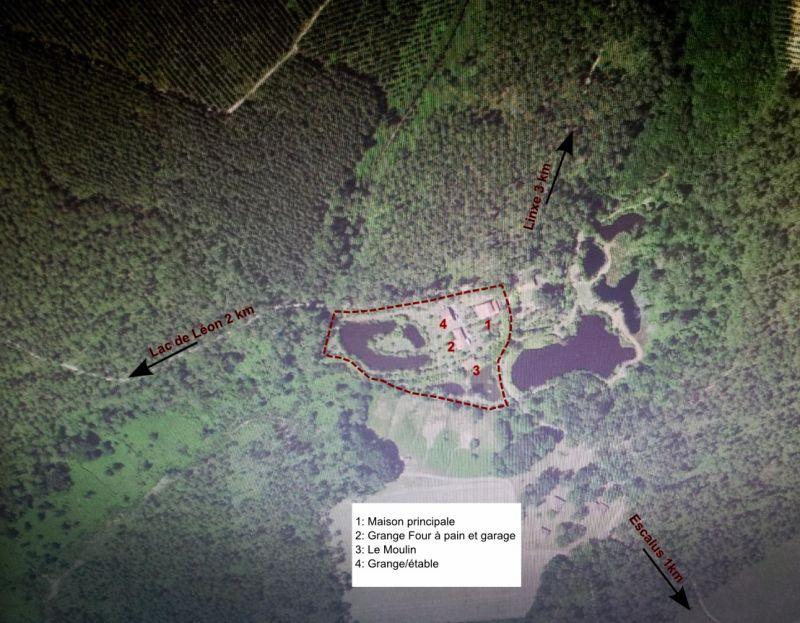 Plan de la location Location Moulin 104036 Léon