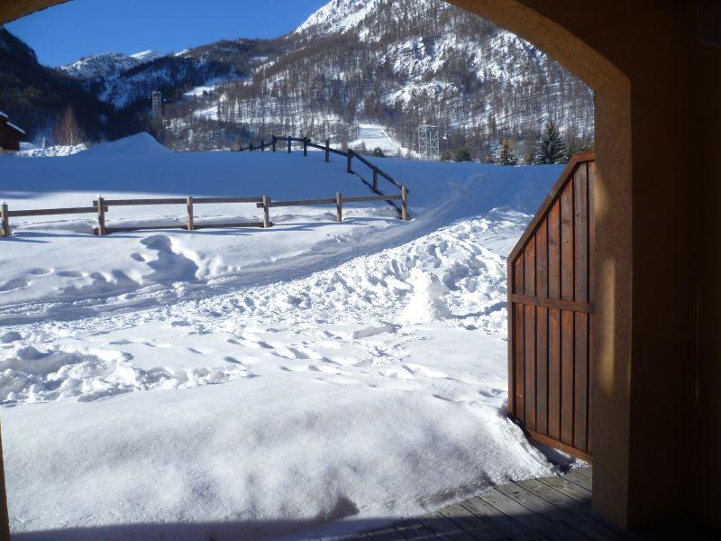 Vue de la terrasse Location Appartement 106783 Serre Chevalier