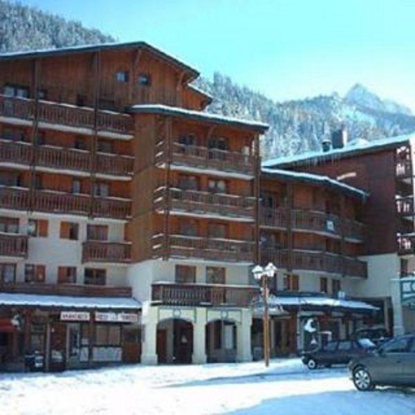 Vue extérieure de la location Location Appartement 106847 Valfréjus