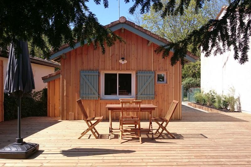 Vue depuis la location Location Gite 108872 Andernos les Bains