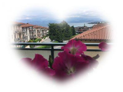 Vue du balcon Location Appartement 110006 Peschiera del Garda