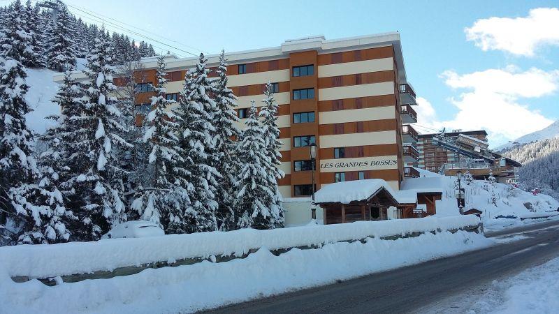 Vue extérieure de la location Location Appartement 110053 Courchevel