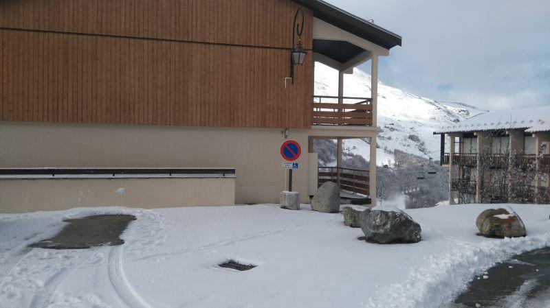 Vue extérieure de la location Location Appartement 111788 Les Menuires