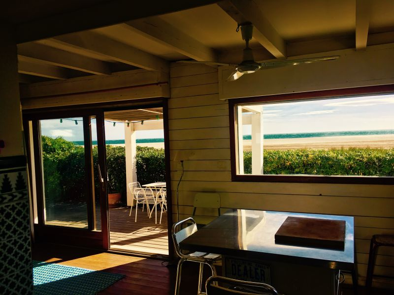 Vue de la terrasse Location Villa 112420 Saint Pierre la Mer