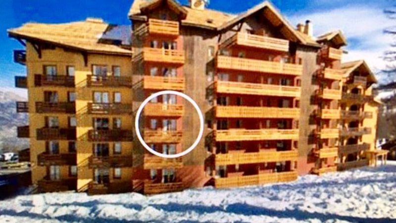Vue extérieure de la location Location Appartement 117329 Risoul 1850