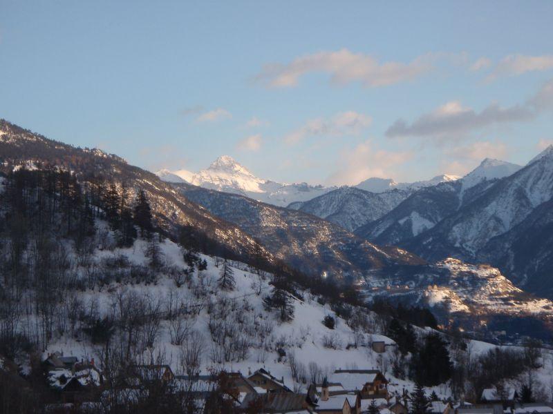 Vue de la terrasse Location Chalet 118830 Serre Chevalier