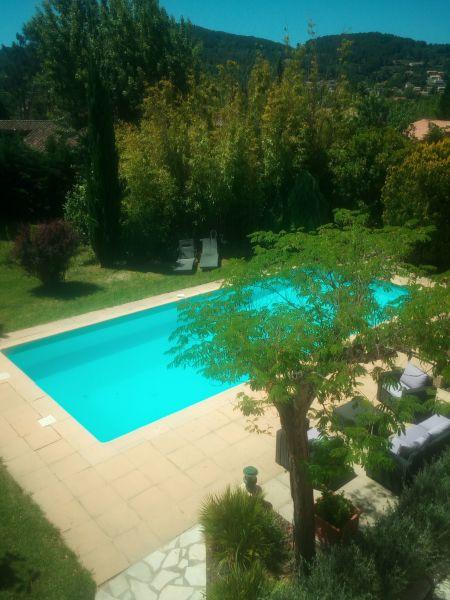Vue depuis la location Location Villa 118922 Le Beausset