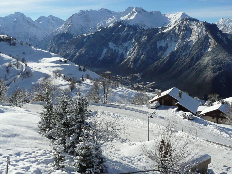 Vue depuis la location Location Appartement 67048 Alpe d'Huez