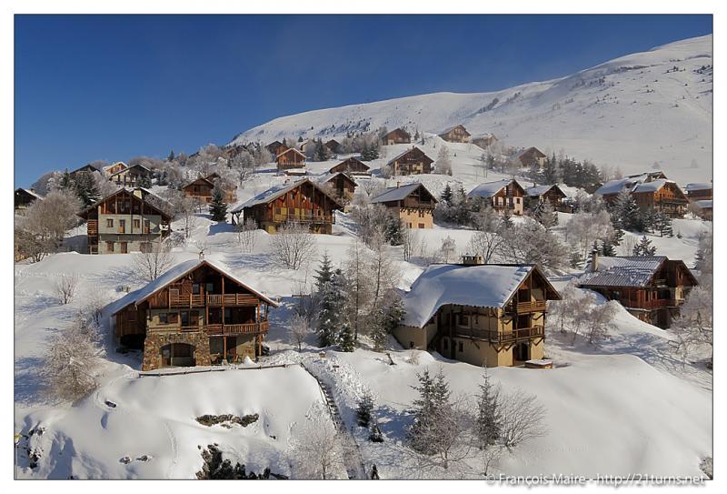 Vue extérieure de la location Location Appartement 67048 Alpe d'Huez