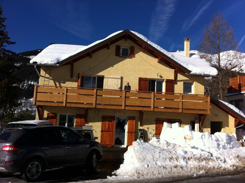 Vue extérieure de la location Location Appartement 67175 Saint François Longchamp