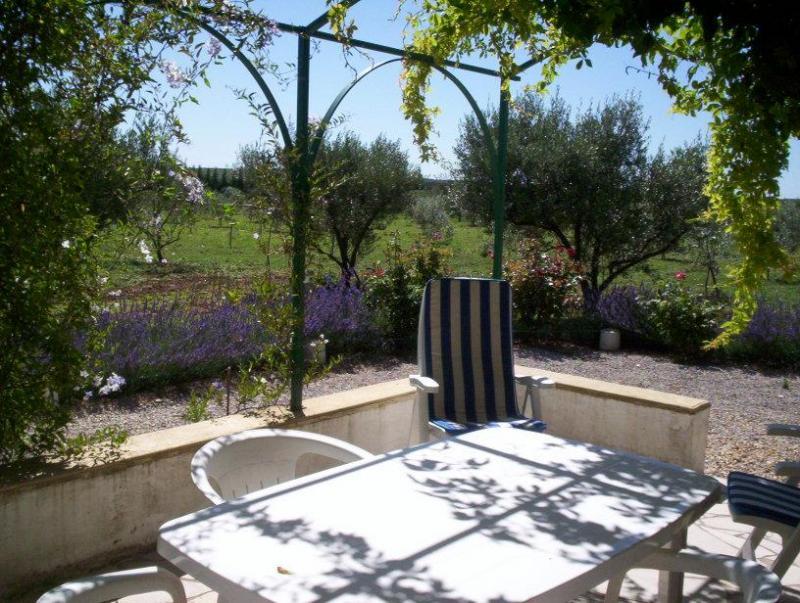 Vue de la terrasse Location Gite 68513 Montpellier