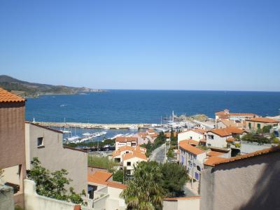 Vue de la terrasse Location Appartement 69044 Banyuls-sur-Mer