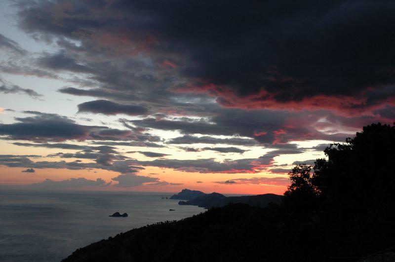 Vue de la terrasse Location Villa 71759 Amalfi