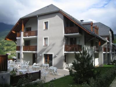 Vue de la terrasse Location Appartement 74733 Saint Lary Soulan