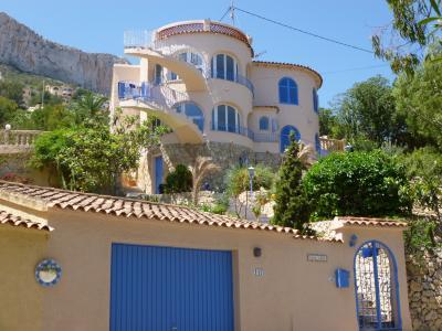 Vue ext�rieure de la location Location Villa 75907 Calpe
