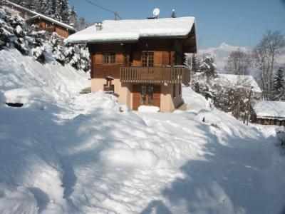 Vue ext�rieure de la location Location Chalet 80692 Saint Gervais Mont-Blanc