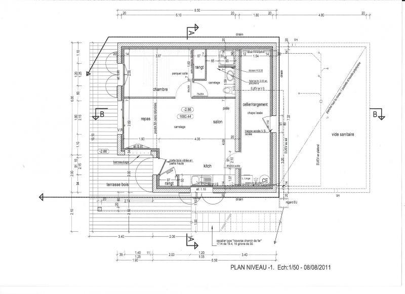 Plan de la location Location Gite 81230 Orcières Merlette