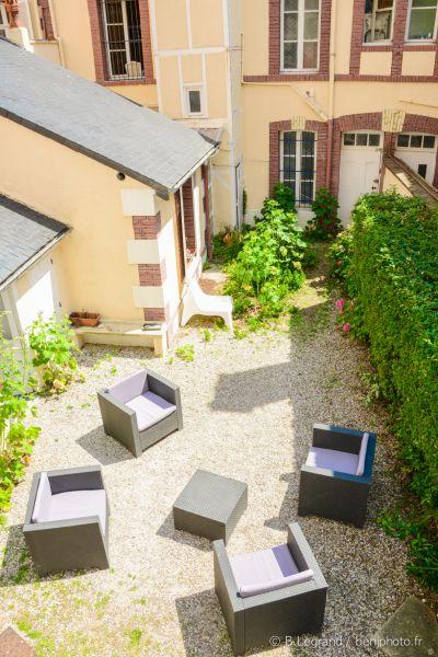 Jardin Location Villa 82116 Cabourg