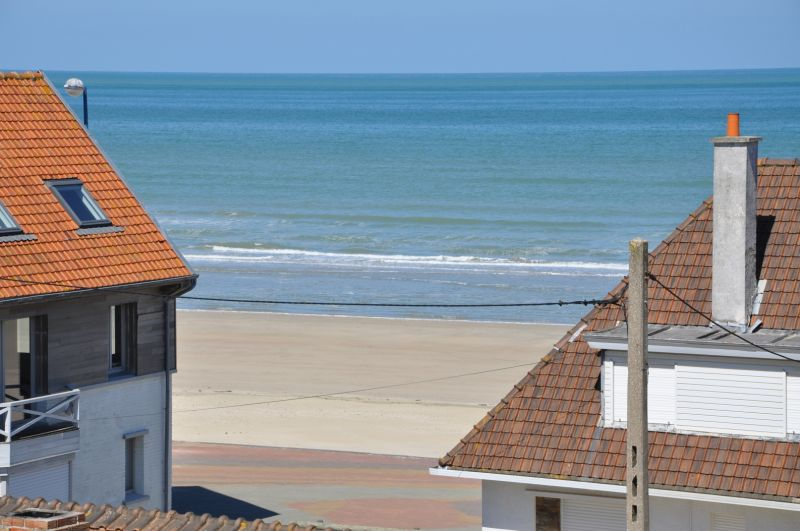 Vue de la terrasse Location Studio 88543 Bray-Dunes